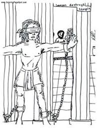 Small Picture samson coloring page BIBLE SAMSON Pinterest Judges Sunday