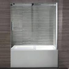 glass tub doors bypass tub door custom glass bathroom doors glass tub doors