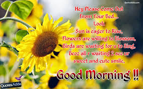 Good Morning Friday Quotes Delectable Good Morning Cute Sms Quotes In English Here Is A English Good