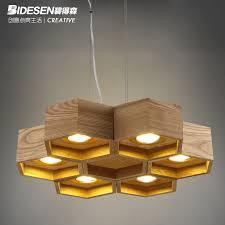 led designer lighting. pitt hudson designer lamps artistic creativity personalized led restaurant minimalist living room chandelier wooden beehiv led lighting e