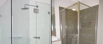 semi frameless showerscreens