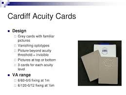 Cardiff Visual Acuity Chart Visual Acuity Anne Bjerre October Ppt Download