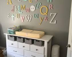 alphabet letters set wall nursery letters wall decor wooden alphabet letters set painted wall ha