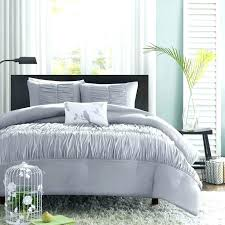 grey duvet cover king details about beautiful modern chic soft ruffle ruched texture set queen textured white covers cotton light size