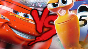 Relâmpago McQueen VS. Turbo | Combate de Rimas | Part. Nossa Mano ...