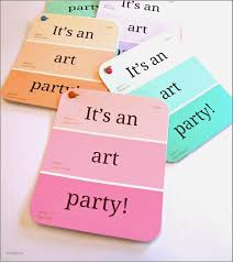 cute sayings for birthday invitations lovely art party invitations using paint chips so cute jpg 1429x1600
