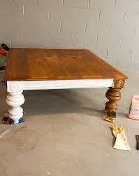 Basic coffee table project if you're looking for a simple and easy diy project, this is it. Diy Coffee Table How To Transform A Thrifted Coffee Table Grace In My Space
