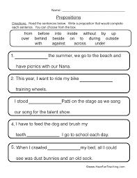 Prepositions worksheet   Have Fun Teaching