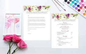 How To Format A Sorority Resume Cover Letter Plus Cute Free Fonts