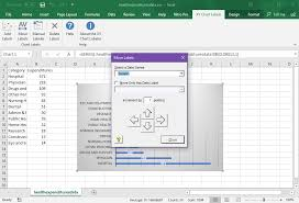 The Xy Chart Labeler Add Labels To Xy Chart Data Points In Excel With Xy Chart