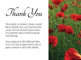 Blank Thank You Card Template Word Thank You Note Funeral Etiquette Donation Card Free Blank