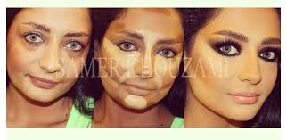 cheek contour before and after. [ img] cheek contour before and after