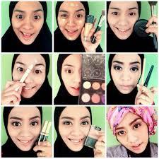 tutorial make up hijabers