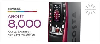 Costa Coffee Vending Machine Hire Amazing CocaCola CEO Big Plans Brewing With Costa Coffee Acquisition The