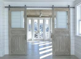 barn doors with glass inserts sliding barn doors with glass beautiful intended for design 6 barn