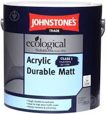 ᐉ <b>Краска Johnstone's Acrylic Durable</b> Matt белый 10 л • Купить в ...