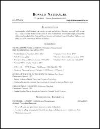 Resume For Graduate School Examples Of Resumes For Graduate School Inspirational Example Resume ...