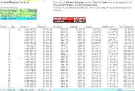Excel Loan Payment Template Calculator Amortization Software 2003 Auto