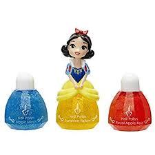 disney princess little kingdom makeup sets snow white nail polish sunshine yellow by disney princess amazon co uk toys games