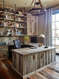 rustic modern office. Rustic Home Office Furniture Modern Decorating Ideas Designs