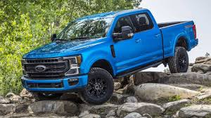 Ford Truck Payload Chart 2020 Ford F Series Super Duty Tremor Off Road Package Debuts