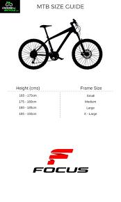 Focus Raven Size Chart Focus Raven Rookie 26 1 0 2016 Cycle Online Best Price