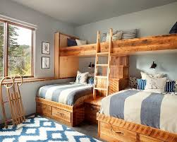 Rustic Interior Design Ideas modern ski chalet with beautiful rustic interiors bunk roomsbunk