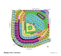 Wrigley Field Chicago Il Seating Chart View