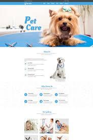 Pet Care Unbounce Template 67250