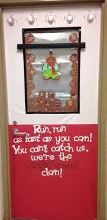 Classroom Door Designs For Christmas Christmas Gingerbread Man Classroom Door Decoration