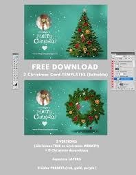 024 Christmas Card Template Photoshop Ideas Templates For Ulyssesroom