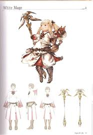 job cles part 2 from the ffxiv art book