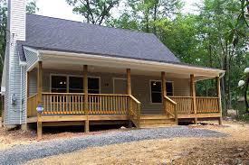 image of small country ranch house plans porches