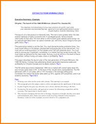 Executive Summary For Resume 24 Resume Executive Summaries Writing A Memo 18