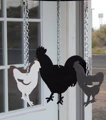 Decorative Chickens For Kitchen Chicken Coop Decor Etsy