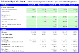 Free Excel Mortgage Calculator Image Of Free Excel Mortgage Calculator Spreadsheet Affordability
