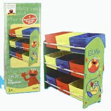 furniture toy storage. Sesame Street Kids Furniture Collection Elmo Toy Organizer With 9 Storage Bins L
