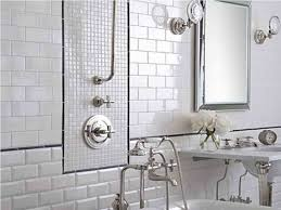 metal framed mirror and stylish wall mounted pedestal sink using chic and simple bathroom wall tile removal ideas bathroom walls how