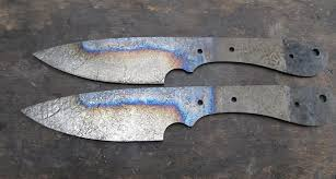 Knife Tempering Color Chart Moose Forge