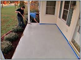 painting outdoor concrete patio paint for concrete patio floor designs painting exterior concrete slabs