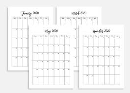 2020 calandars a5 monthly calendars 2020 monthly calendars 2020 calendars 2019 2020 planner monthly planner 2020 monthly 2020 a5 calendar 2020