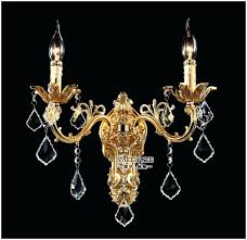 wall chandelier sconce classic golden crystal wall light fixture silver wall sconces lamp crystal wall brackets wall chandelier sconce