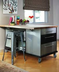 Metal Kitchen Island Tables Kitchen Island On Wheels With Stools Best Kitchen Island 2017