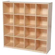 "Wood Designs WD50916 (16) Big Cubby Storage, 49 x 48 x 15"""