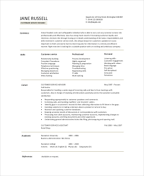 Customer Service Resume Summary Example Gallery For Photographers