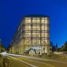 wooden office buildings. Tamedia-Shigeru-Ban-Zurich-11-exterior-view-Stauffacherquai. Tamedia Office Building. Wooden Buildings L