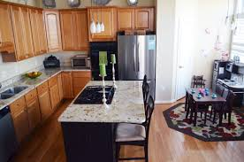 White Ice Granite Kitchen Choosing Flooring And Countertops Put That On Your Blog