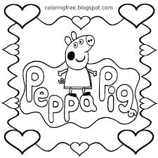 Peppa Pig Coloring Pages Peppa Pig Coloring Pages Online Free