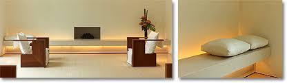 Zen furniture in a London home