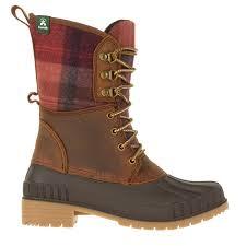 Kamik Womens Sienna 2 Waterproof Winter Boots Dark Brown